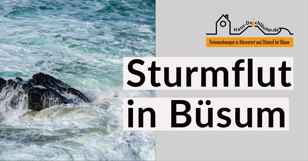 Büsum Sturmfluten und Klimawandel