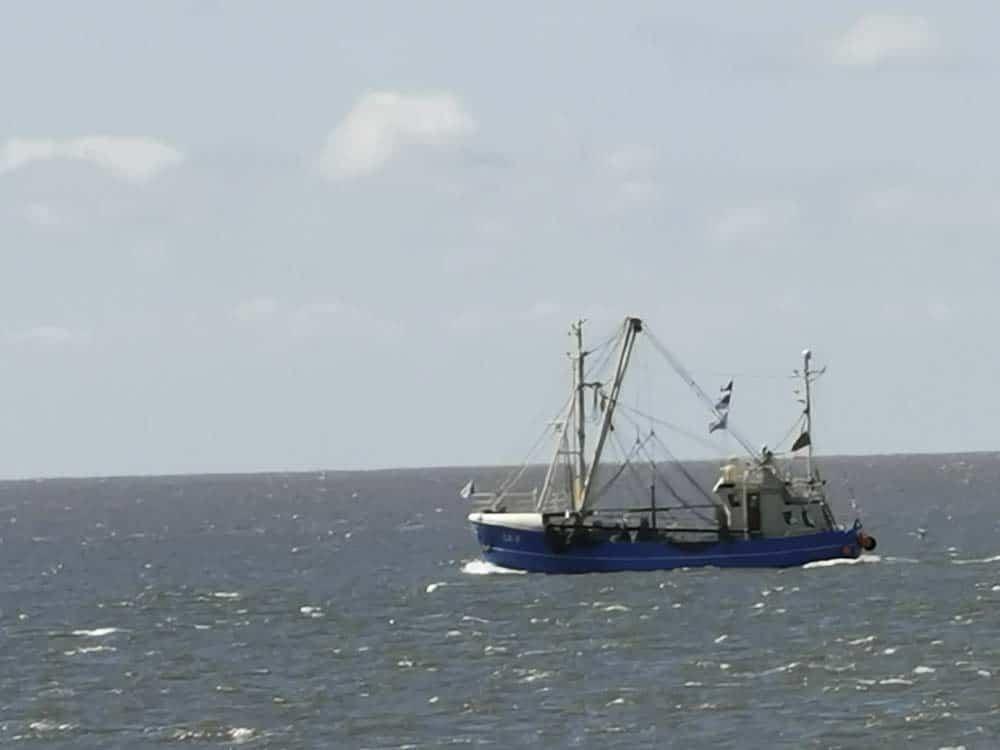 Fischkutter-Seegang