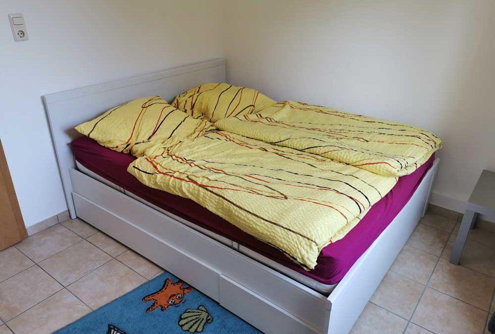 Wohnung Wattwurm in Warwerort jetzt mit 2. Doppelbett