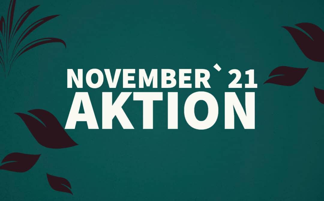 November Aktion 2021 – 5 Tage für4
